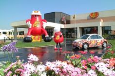 Jelly Belly Factory in Fairfield, CA - Factory Tour - 2010