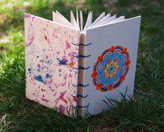 ::Picaflor caracol:: #Libretas #cuadernos #manualidades