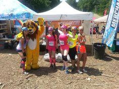 #LionMax at the 5K Foam Fest in NJ