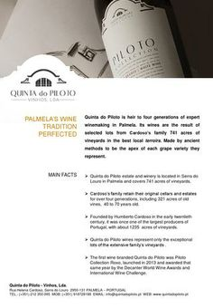 Quinta do Piloto Press Kit - English