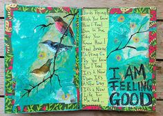 Bloknote | Blognotes by Marieke Blokland: Art Journal: I am feeling good