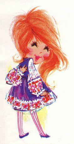 #Redhead #RedHair #illustration