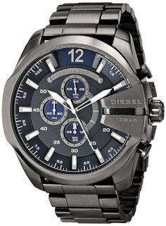 Diesel Men's DZ4329 Diesel Chief Series Analog Display Analog Quartz Grey Watch