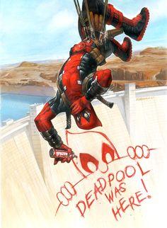 Deadpool by Dave Dorman - W.B.