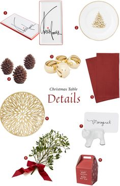 Christmas Table Setting: All in the Details