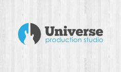 Logotype for Örebro based music recording studio Universe Production Studio.