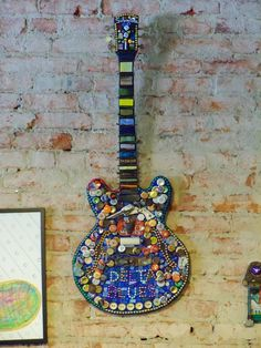 awesome guitar wall art