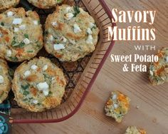 Savory Muffins-Sweet Potato and Feta
