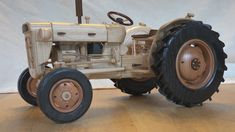 The first pattern we release is for a Fordson tractorata scale of 1:8. More specifically it's a model of the 1960s Fordson Super Dexta. This model has a number of challenging components, for example its working steering rack. In order tobuild this model, you will need expert woodworking skills and it will definitely work in your favour if you have experience in makingwooden models. Needing these skills should not discourage you as the documentation ofthis build is very thorough and…