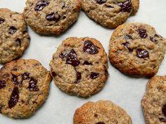 Almond Butter Chocolate Chunk Cookies @cearaskitchen #glutenfree #vegan #healthy