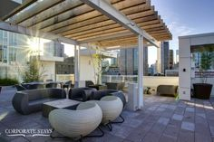 The Alto Apartment features two spacious bedrooms and an incredible view Furnished Apartment, Business Travel, Storage Spaces, Apartments, Vancouver, Pergola, Bedrooms, The Incredibles, Outdoor Structures