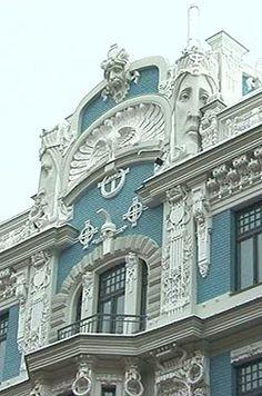 1000 Images About Architecture Art Nouveau On Pinterest