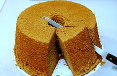 Mocha Chiffon Cake ( Super Moist & Soft type )