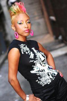 6583b497eed0 funky short black women haircut