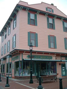 Saltwater Taffy is a favorite in Cape May- I prefer the homemade fudge!