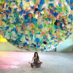 Plastic Bag Sculpture By Pascale Tayou