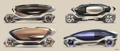 BMW iQ Concept - Design Sketch