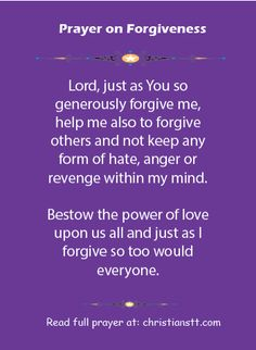 """A Prayer of Forgiveness - Psalm I will confess my transgressions to the Lord,"""" and you forgave the guilt of my sin. I should pray this prayer daily till I forgive him and stop hating the fact he's even breathing. Prayer For Forgiveness, Faith Prayer, Power Of Prayer, My Prayer, Faith In God, Prayer Board, Healing Prayer, Quotes To Live By, Life Quotes"""