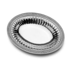 Flutes & Pearls Oval Bread Tray - Flutes & Pearls - Collections
