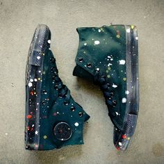 Fancy - Futura x Hennessy Custom Converse Chuck Taylors #converse #iwant #futuraxhennessy