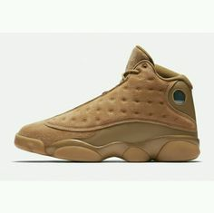 free shipping 48cb1 cde7a Air Jordan 13 Wheat Golden Harvest Elemental Gold 414571 705 Basketball  Shoe For Sale Big Boys Youth Jeunesse Shoes