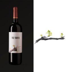 wine labels illustration on Behance