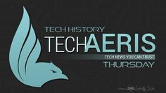 ech History Thursday: Week 7, 08/03-08/09 Welcome to the seventh installment of Tech History Thursday! If you're keeping up to date with tech news by reading Techaeris, you're just as interested in the origins of our high-tech world as we are. This weekly snapshot will give you a look at what happened throughout history as it relates to tech. Keep reading for this week's tech history rundown #techhistorythursday   #techhistory