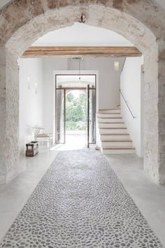 Entry hall. Felanitx renovation by Munarq