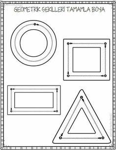 geometrische formen graphomotorik vorschule pinterest. Black Bedroom Furniture Sets. Home Design Ideas