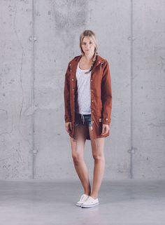 Wemoto — dámská kolekce oblečení jaro/léto 2015 / Wemoto — womens fashion — spring/summer 2015  #parka #jacket #shorts #bunda #sortky #wemoto #streetwear #fashion #german
