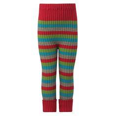 Ribbestrikket bukse, ull: Elastisk ribbestrikket bukse. 100% merinoull. fra Nøstebarn.