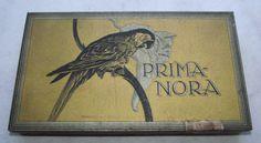 Blechdose, RINN & CLOOS, Prima Nora, Zigarren, Tabak, Reklame, Papagei, Ara | eBay