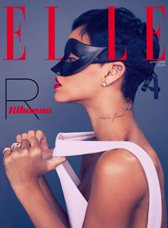 Rihanna by Mariano Vivanco for Elle UK