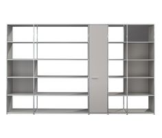 Shelving wall by Dauphin Home | Office shelving systems