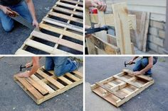 pallet coffee table with metal hairpin legs diy 99 pallets, painted furniture, pallet