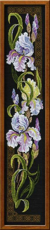 How I would adore having this cross-stitch pattern... and the time to work it...