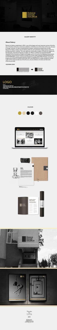 Šiauliai Art Gallery Rebrand on Behance