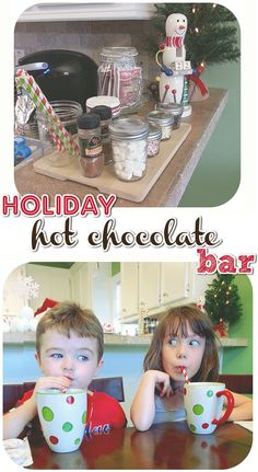 DIY Hot Chocolate Bar for the Holidays