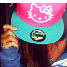 Hello Kitty SnapBack we should make matching hats 2f48f6b71c9