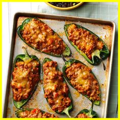 Chili-Stuffed Poblano Peppers Recipe -While exploring Mexican restaurants, I tasted chiles rellenos and wanted to make them at home. My husband and I teamed up to create this new favorite recipe. Mexican Dinner Party, Dinner Party Recipes, Dinner Ideas, Holiday Recipes, Chile Relleno, Mexican Fish Recipes, Mexican Dinners, Mexican Desserts, Enchiladas
