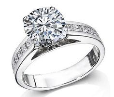 Remember ladies, anything less than 4 carats is a friendship-ring =)
