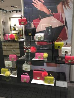 FURLA window display, Poland