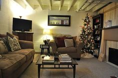 diy basement design ideas. Unfinished Basement Decorating Ideas On A Budget - Google Search Diy Design