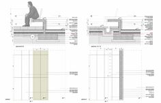 Since 1998 the Web Atlas of Contemporary Architecture Architecture Plan, Contemporary Architecture, Architecture Details, Landscape Architecture, Landscape Design, Landscape Structure, Landscape Drawings, Structural Drawing, Technical Drawing