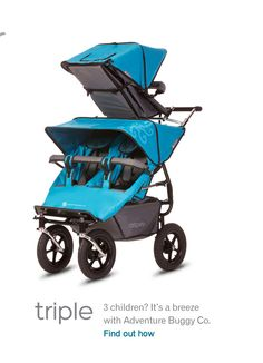 Adventure Buggy Co. Provides exceptional, top of the line prams for Twins, Triplets and Quads. Baby Jogger Stroller, Baby Strollers, Convertible Stroller, Triplet Babies, Vintage Pram, Cute Baby Boy, Baby Carriage, Baby Kids Clothes, Twin Babies