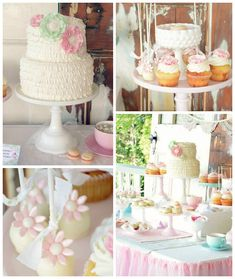Shabby Chic Tea Party via Kara's Party Ideas | KarasPartyIdeas.com (1)