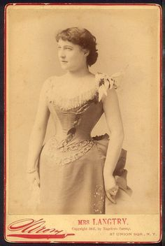 1887 - Lillie Langtry by Sarony, republished by Mora