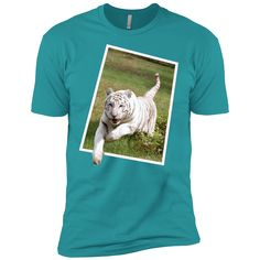 Hoping you will love this new Zabu White Tiger ... Check it out! http://catrescue.myshopify.com/products/zabu-white-tiger-leaps-out-next-level-premium-short-sleeve-tee?utm_campaign=social_autopilot&utm_source=pin&utm_medium=pin