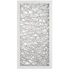 Z Gallerie Wall Art m. bed // 1 over each night stand, platinum reflection