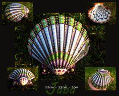 Art original de peinte à la main sea shell fé